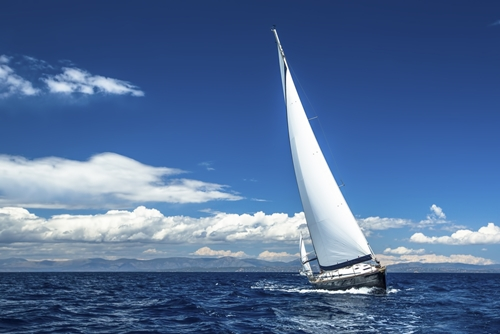 Boat on water, watercraft insurance