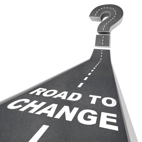 Road to change graphic