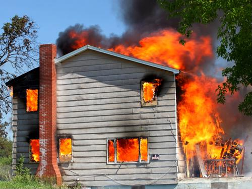 The physical make-up of many of today's homes is making them more at risk for serious fire destruction.