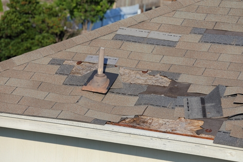 Destroyed roof needs home insurance