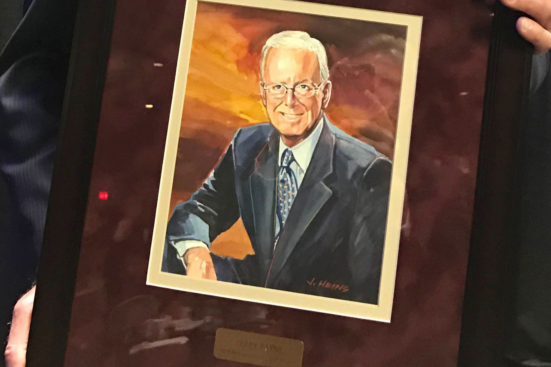 Terry Payne MT Business Hall of Fame Portrait